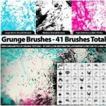 1000+ Best Photoshop Grunge Brushes For Web Designers