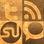 Freebies – Grungy Social Media Icon Set