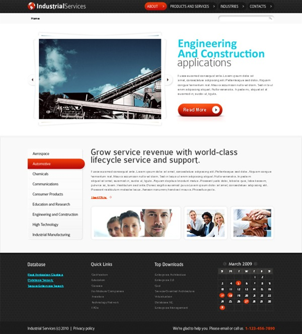 10 useful html5 website templates for free download