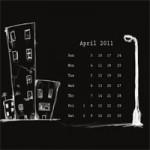 Desktop Wallpaper Calendar : April 2011