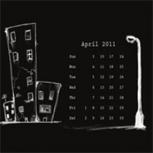 Desktop Wallpaper Calendar : April 2011