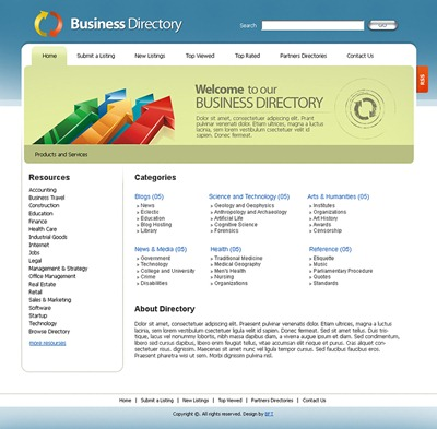 template for directory