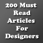 200 Must Read Articles For Designers