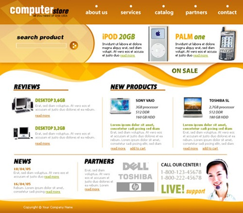 Free Picture Website Templates