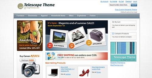 Free Magento Themes