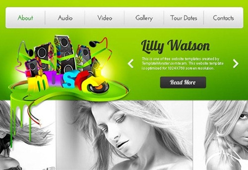 Best free psd website templates free psd website template pronofoot35fo Choice Image