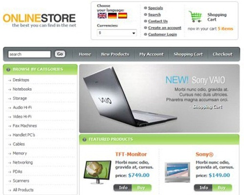 6 Free WordPress Ecommerce Themes