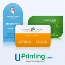 Giveaway: 250 Die Cut Business Cards for One Lucky Winner From UPrinting.com