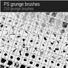Winners Announced: 210 Grunge Brushes from VectorPack.net