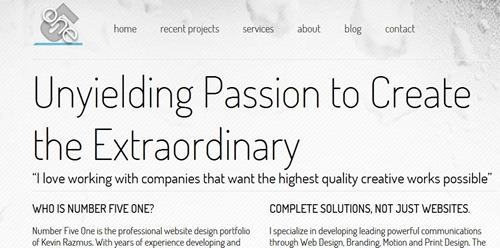 css web design