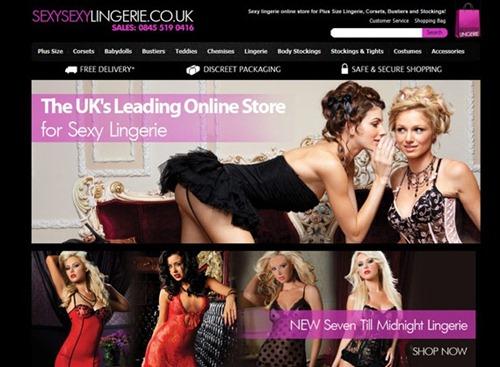 Sexy lingerie shop online