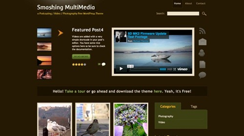 Best Free WordPress Themes Of 2011
