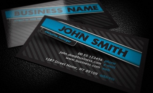 Elegant Business Cards Psd
