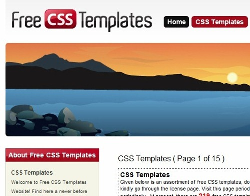 20 best websites to download free css templates best websites to download free css templates pronofoot35fo Images