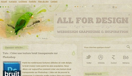 websites with use of textures