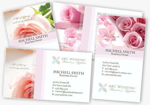 30 print ready free business card templates 4 elegant wedding business card templates in psd free photoshop business card templates friedricerecipe Gallery