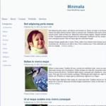Minimalia -  Free Minimal WordPress Theme