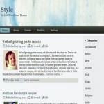 Style -  Free WordPress Theme For Stylish Blogs