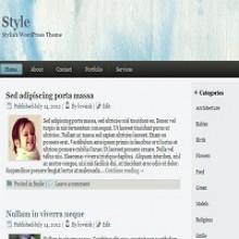 Style –  Free WordPress Theme For Stylish Blogs