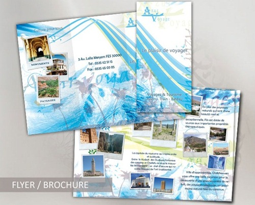 35 Beautiful Travel Brochure Templates – Vacation Brochure Template