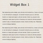 Free PSD Web Element - Simple Website Widget Box