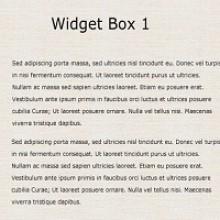 Free PSD Web Element – Simple Website Widget Box