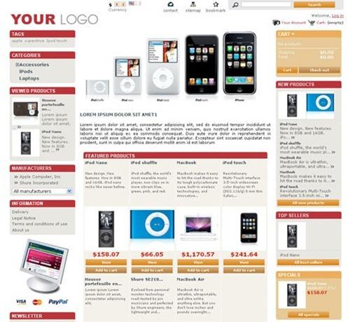 50 Best Free E-Commerce Templates