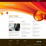 Marketing Guru : Free Website Template