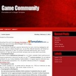 30 Stunning Red Blogger Templates For Free Download