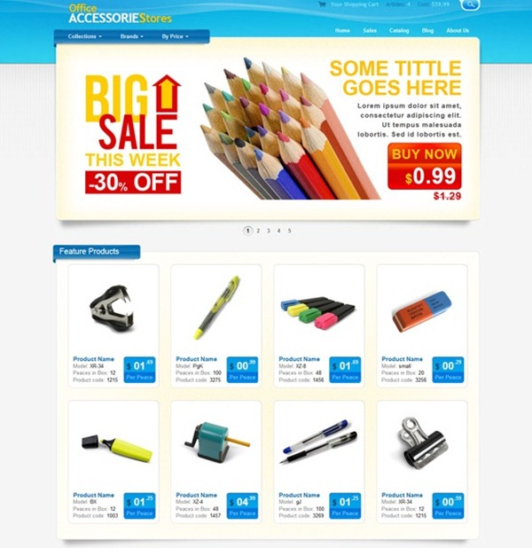 Free ecommerce website with free hosting