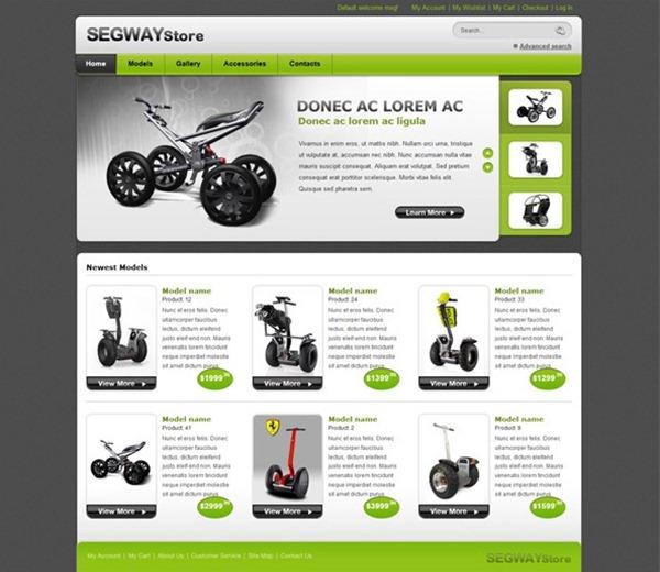 free ecommerce templates