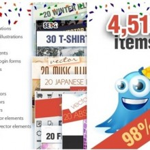 Get $2799 Worth of Design Resources for only $49