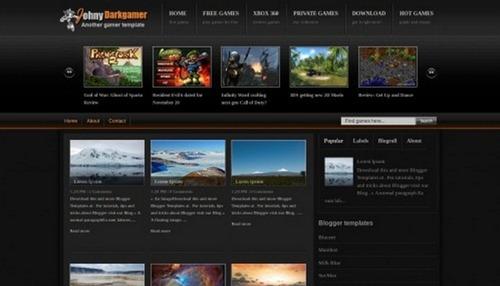 free blogger templates
