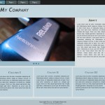 Free Responsive Website Template : My Company