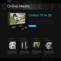 Online Media : Responsive Website Template
