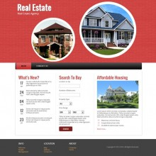 Real Estate : Responsive Website Template