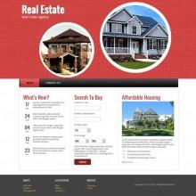 Real Estate : Responsive Website Template