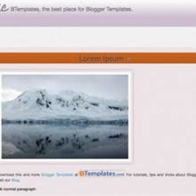Free Blogger Templates : 30 Fluid Width Templates