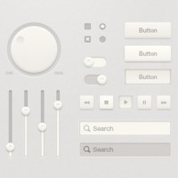20 High Quality Free PSD UI Elements
