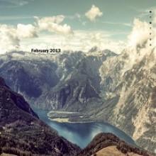 New Year 2013 Desktop Wallpaper Calendar