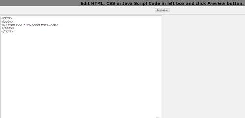 online html editors