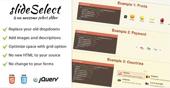 30 jQuery Slider Plugins You Must Use In 2013