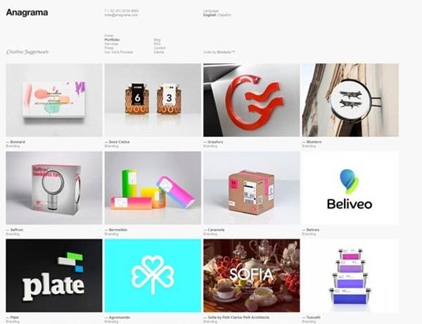 minimal website designs