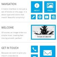 10 Retina Ready Mobile Website Templates