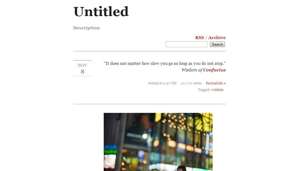 100 Best Free Tumblr Themes To Give Unique Look To Your Blog