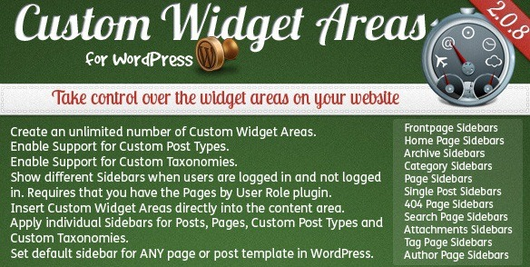 wordpress widgets