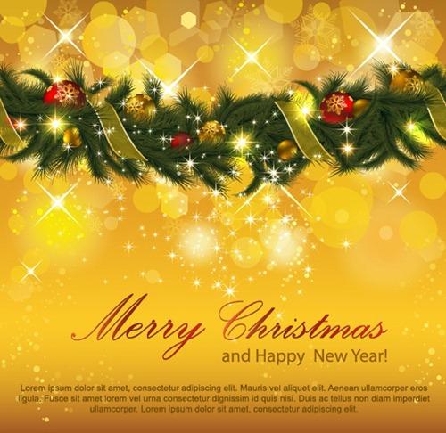 christmas decoration yellow lights