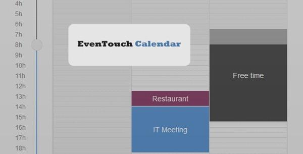 even touch calendar