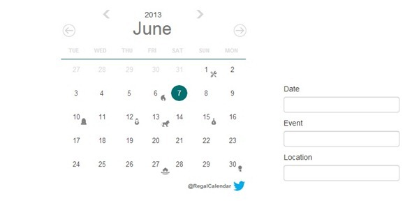 regal calendar