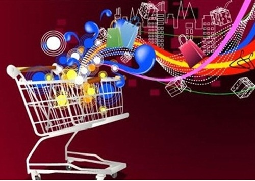 shopping cart vectors
